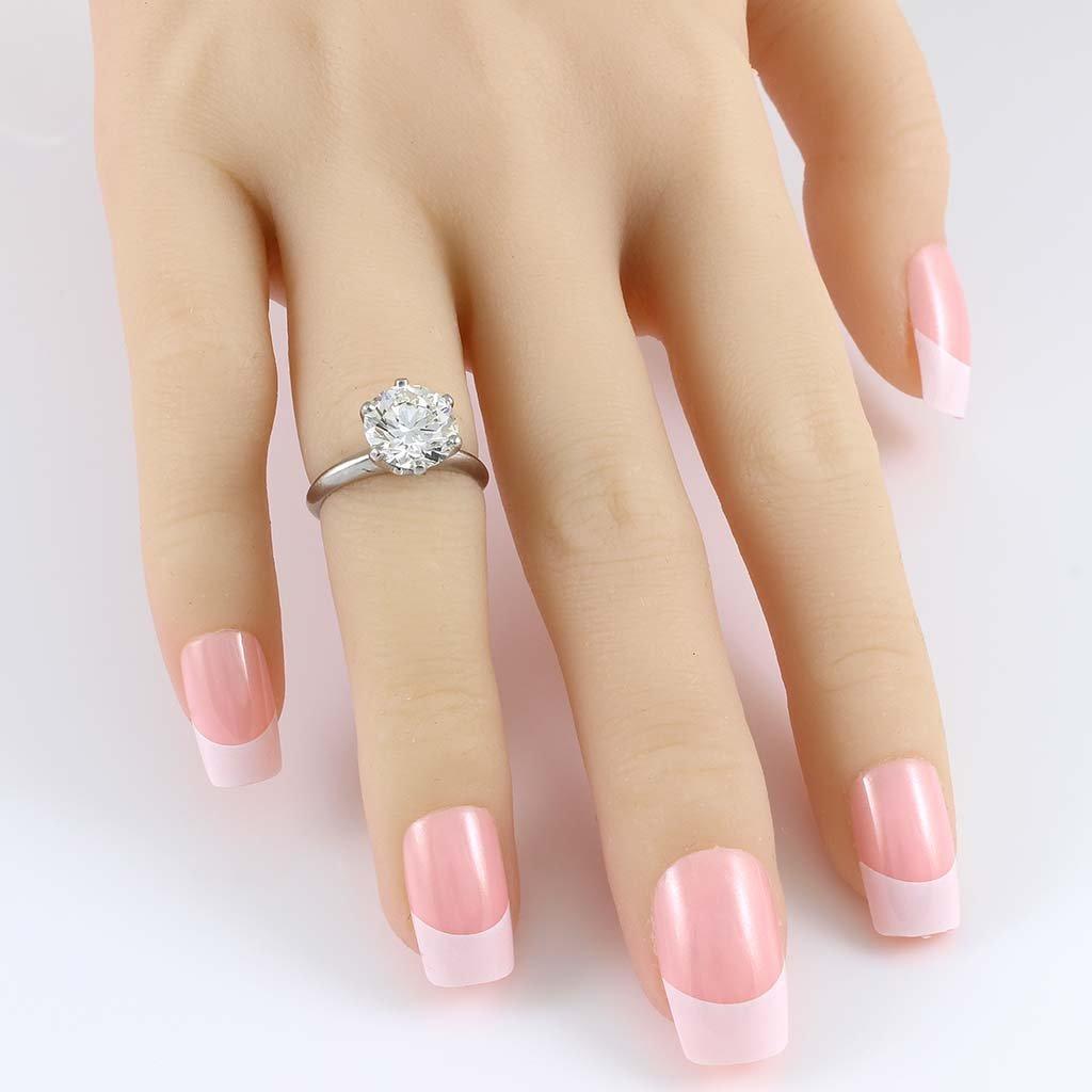 Tiffany & Co. Diamond Platinum Ring - 6