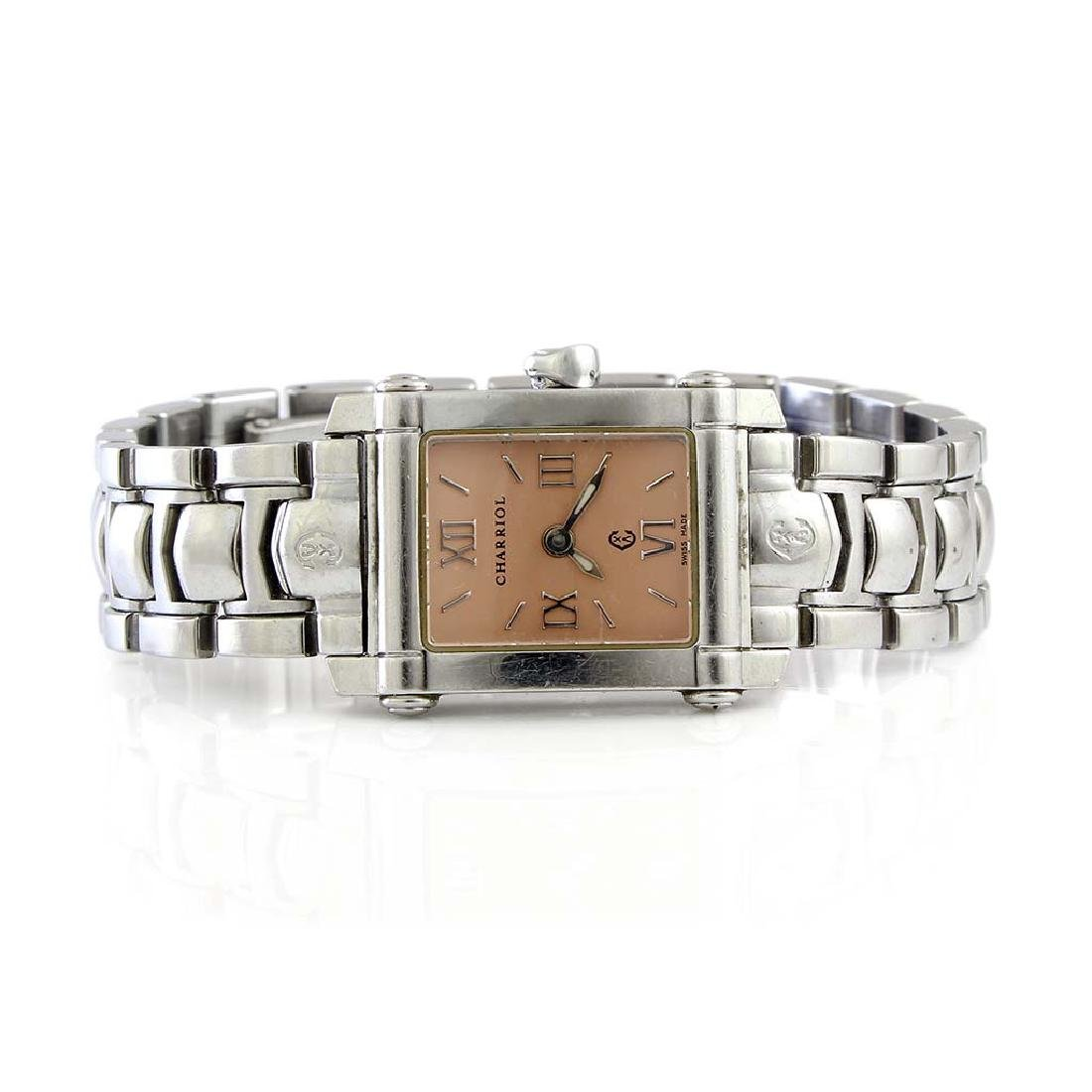 Philippe Charriol Stainless Steel Watch