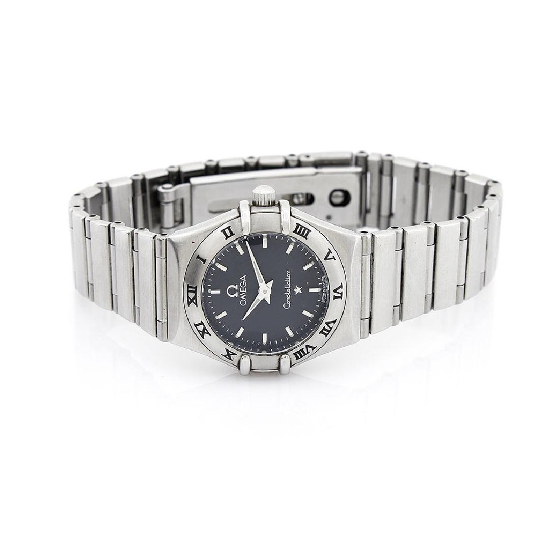 Omega Constellation Stainless Steel Watch, Swiss