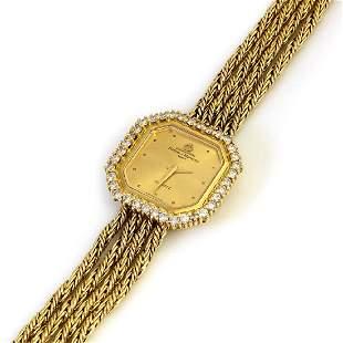 Baume Mercier Diamond 14K Gold Watch