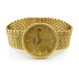 Piaget 18K Gold Automatic Watch