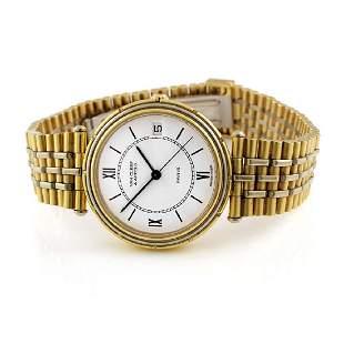 Van Cleef Arpels 18K Gold Watch