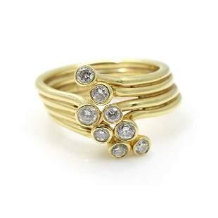 Sonia B 14k Gold Diamond Ring