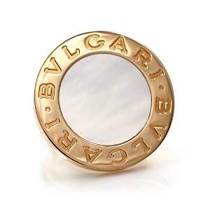 Bulgari Mother-of-Pearl Gold Ring