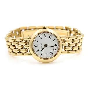 Tiffany & Co 18k Gold Ladies Watch, Swiss