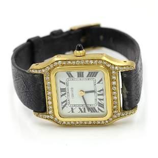 Concord, 18k Gold & Diamond Watch, Swiss
