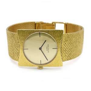 Patek Philippe 18k Gold Watch