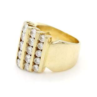 Vintage 14k Gold, Diamond Ring