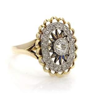 Antique Handmade Diamond Ring