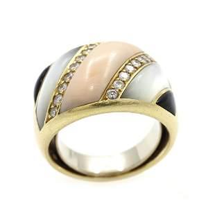 14k Gold Gem-set Ring