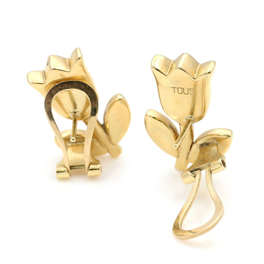 Tous 18k Gold Ring & Pair of Earrings - 2