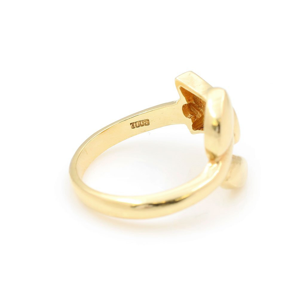 Tous 18k Gold Ring & Pair of Earrings - 3