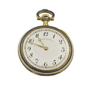 Vacheron Constantin 18k Gold Diamond Pocket Watch