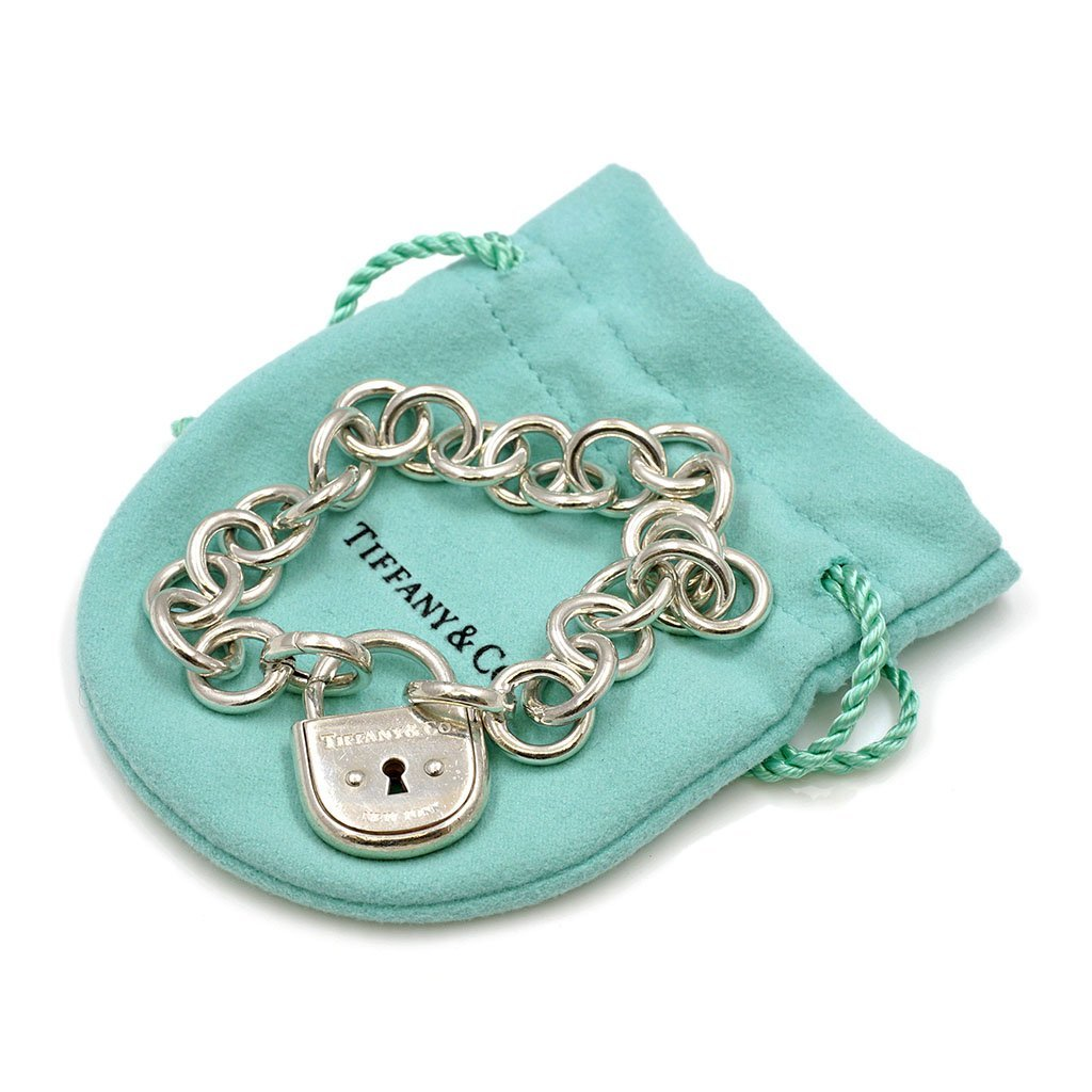 Tiffany & Co. Silver Arc Lock Bracelet