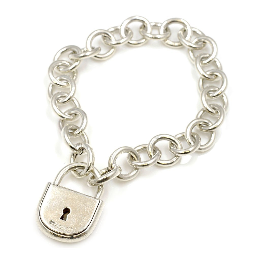 Tiffany & Co. Silver Arc Lock Bracelet - 2