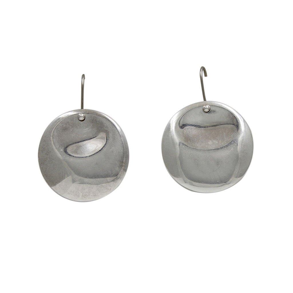 Elsa Peretti for Tiffany & Co. Silver Disc Earrings