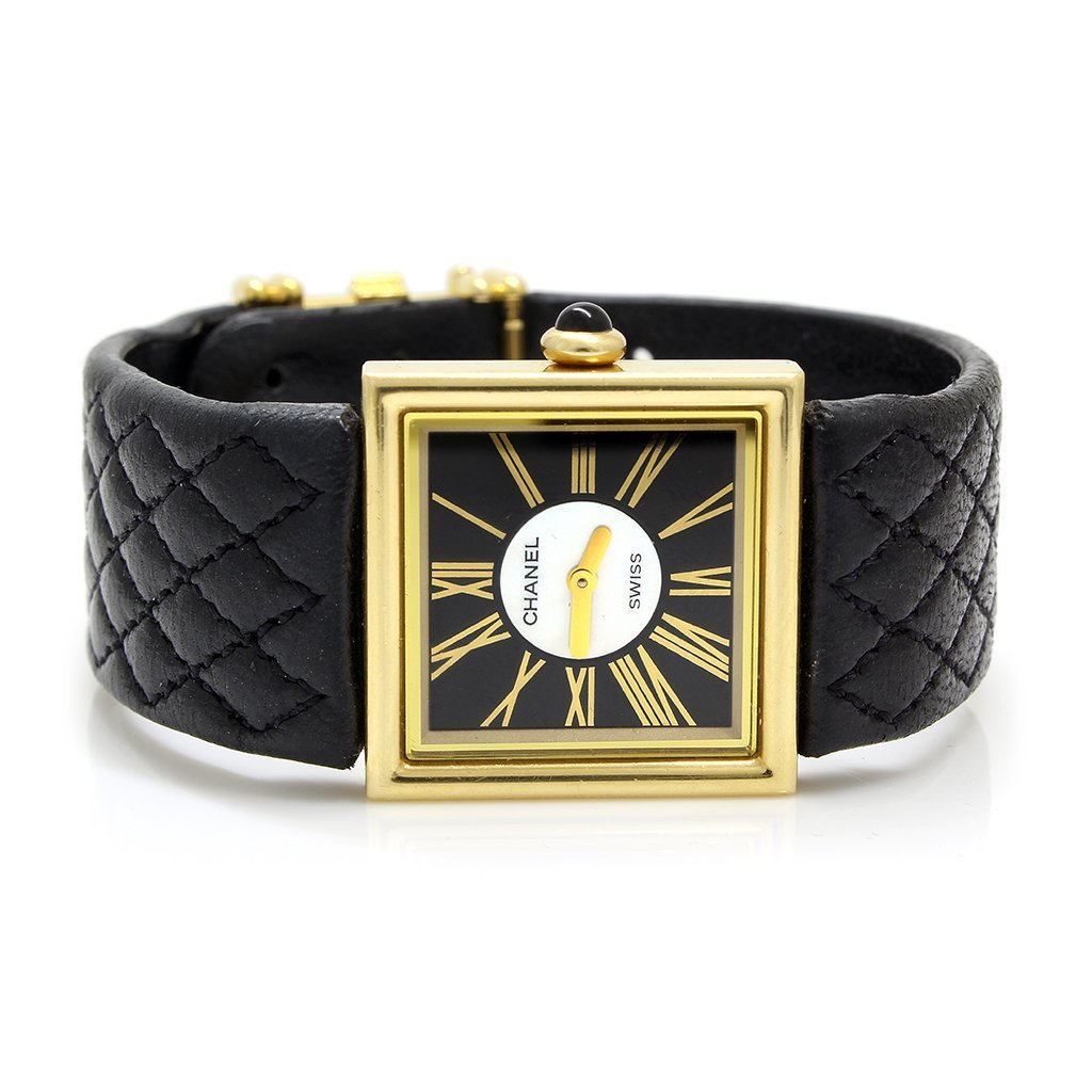 Authentic Chanel 18k Gold Quartz Ladies Watch