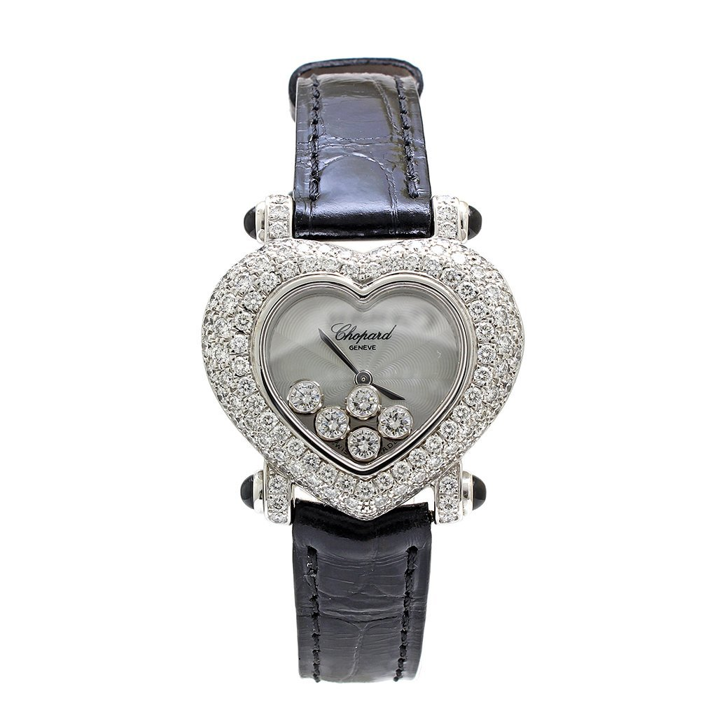 Chopard Heart Happy Diamond 18k Gold Ladies Watch