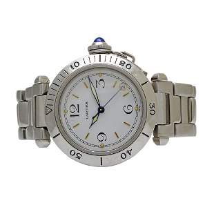Cartier Pasha Stainless Steel Watch