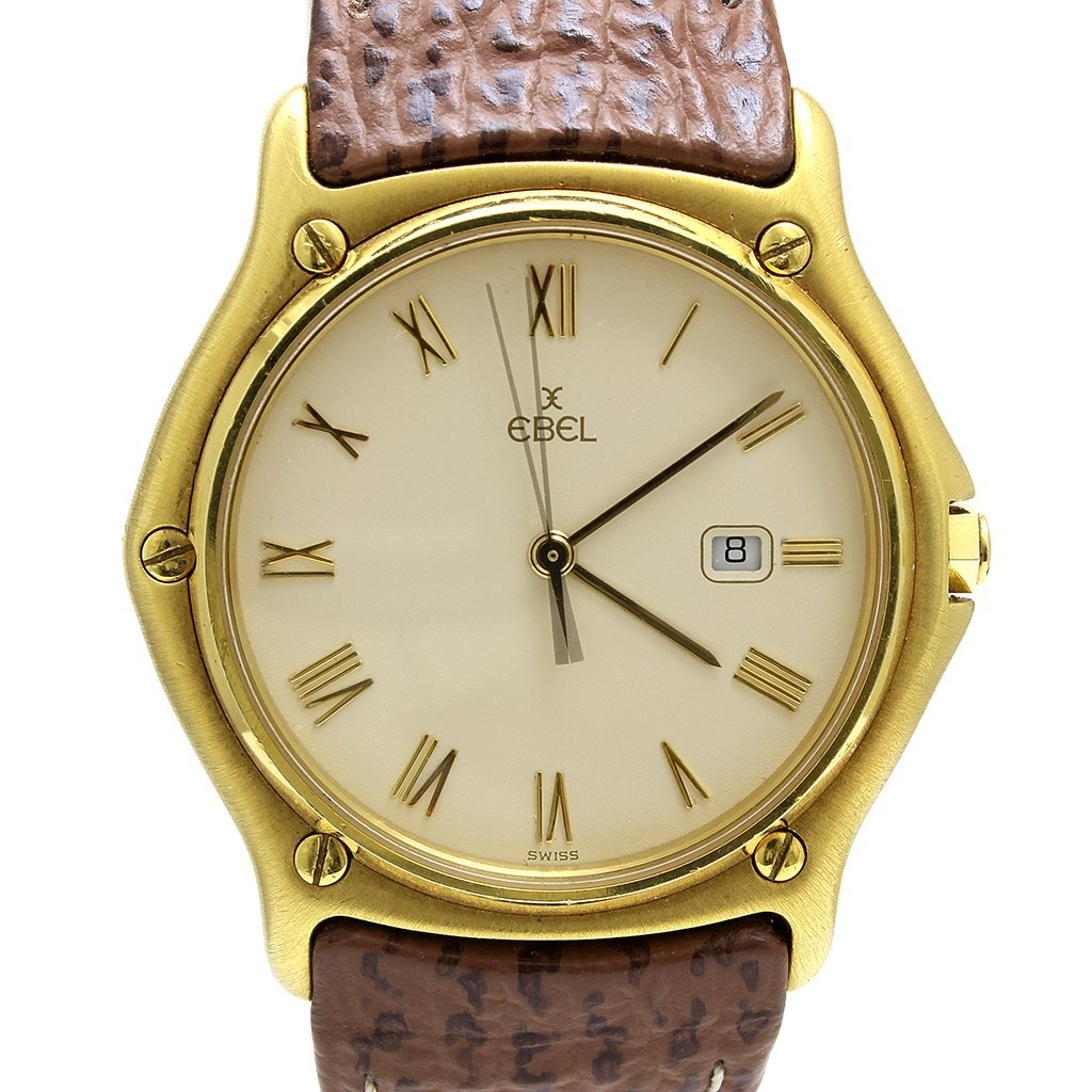 Ebel 18k Yellow Gold Watch
