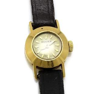 Vintage Rolex 14k Gold Watch, Serial 57836