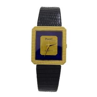 Piaget Lapis Lazuli 18K Yellow Gold Quartz Lady's Watch
