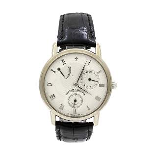 Vacheron 18K White Gold Patrimony Men's Watch