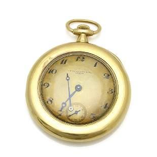 Patek Philippe 18K Yellow Gold Open Face Pocket Watch