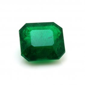 5.89 Ct. Unmounted Natural Emerald