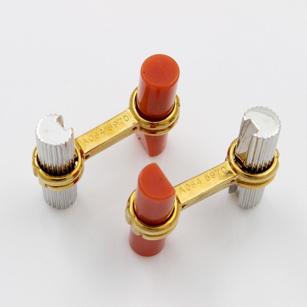 Boucheron 18K Gold Interchangeable Cufflinks - 3