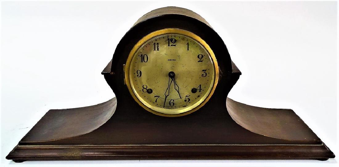 EARLY 20TH C. ANSONIA MAHOGANY MANTEL CLOCK