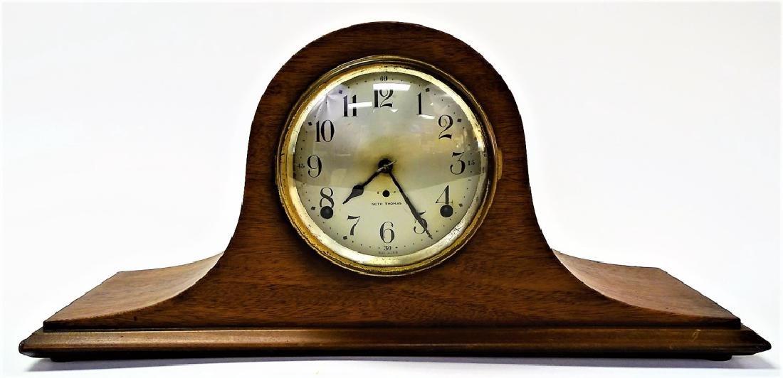 EARLY 20TH C. SETH THOMAS MAHOGANY MANTEL CLOCK
