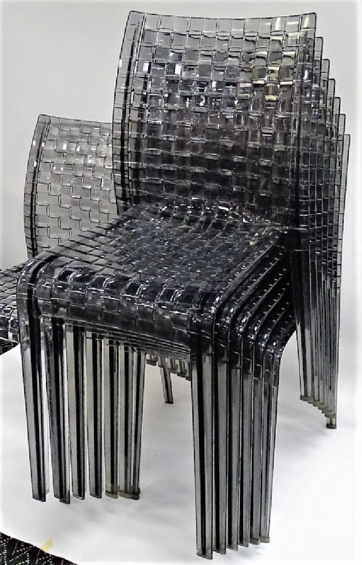 8 MODERN KARTELL 'AMI AMI' GHOST CHAIRS - 2