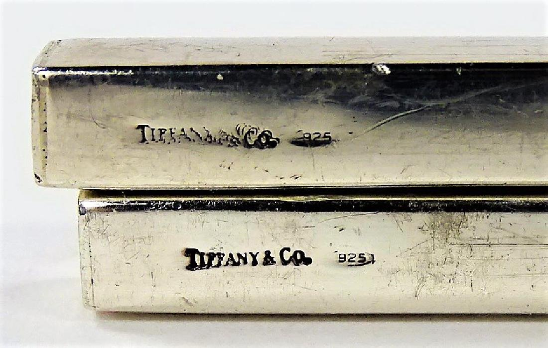 PAIR OF TIFFANY & CO STERLING SILVER HAIR PINS - 3