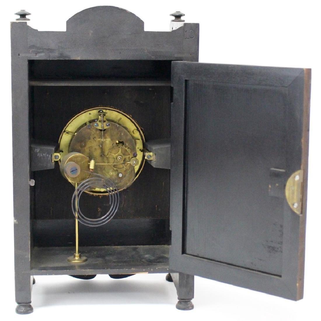 ANTIQUE SETH THOMAS EBONIZED CASE MANTEL CLOCK - 5