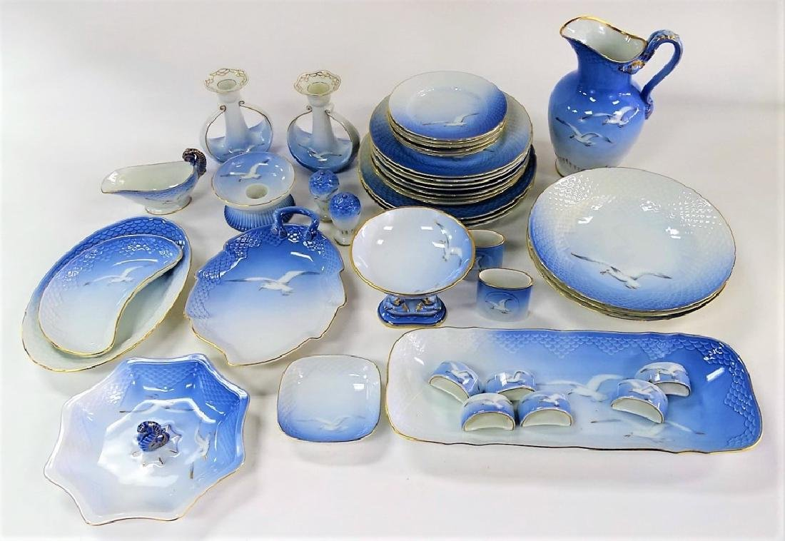 40PC SET OF B&G DANISH PORCELAIN DINNERWARE