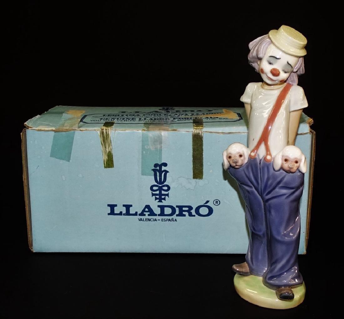 LLADRO PORCELAIN 'LITTLE PALS' FIGURE #7600
