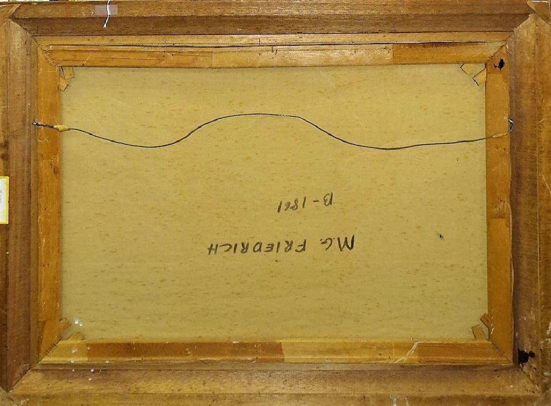 M.G. FRIEDRICH ORIGINAL NAUTICAL OIL ON CANVAS - 5