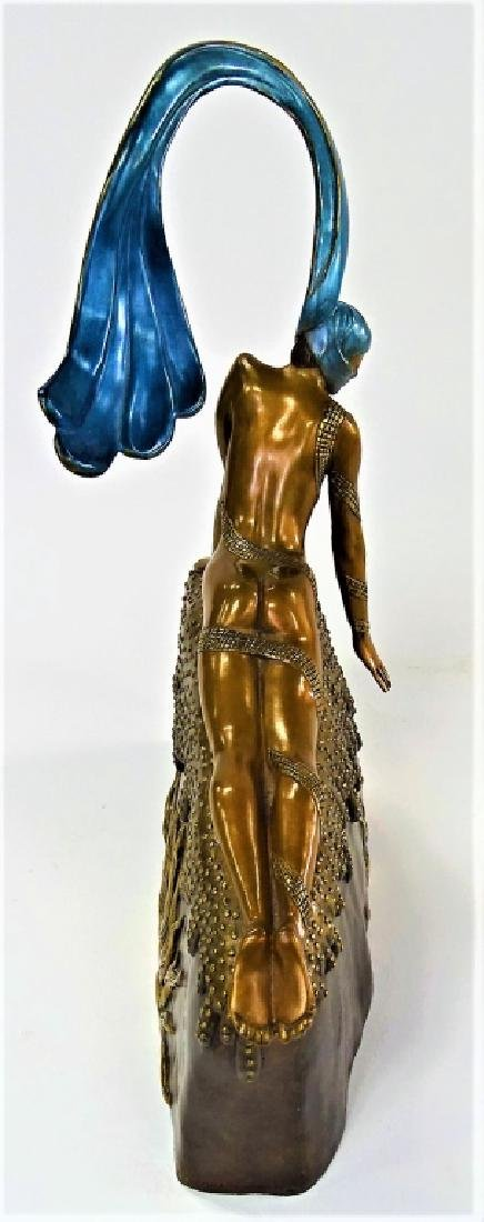 ERTE BRONZE SCULPTURE - FRENCH ROOSTER 306/375 - 6