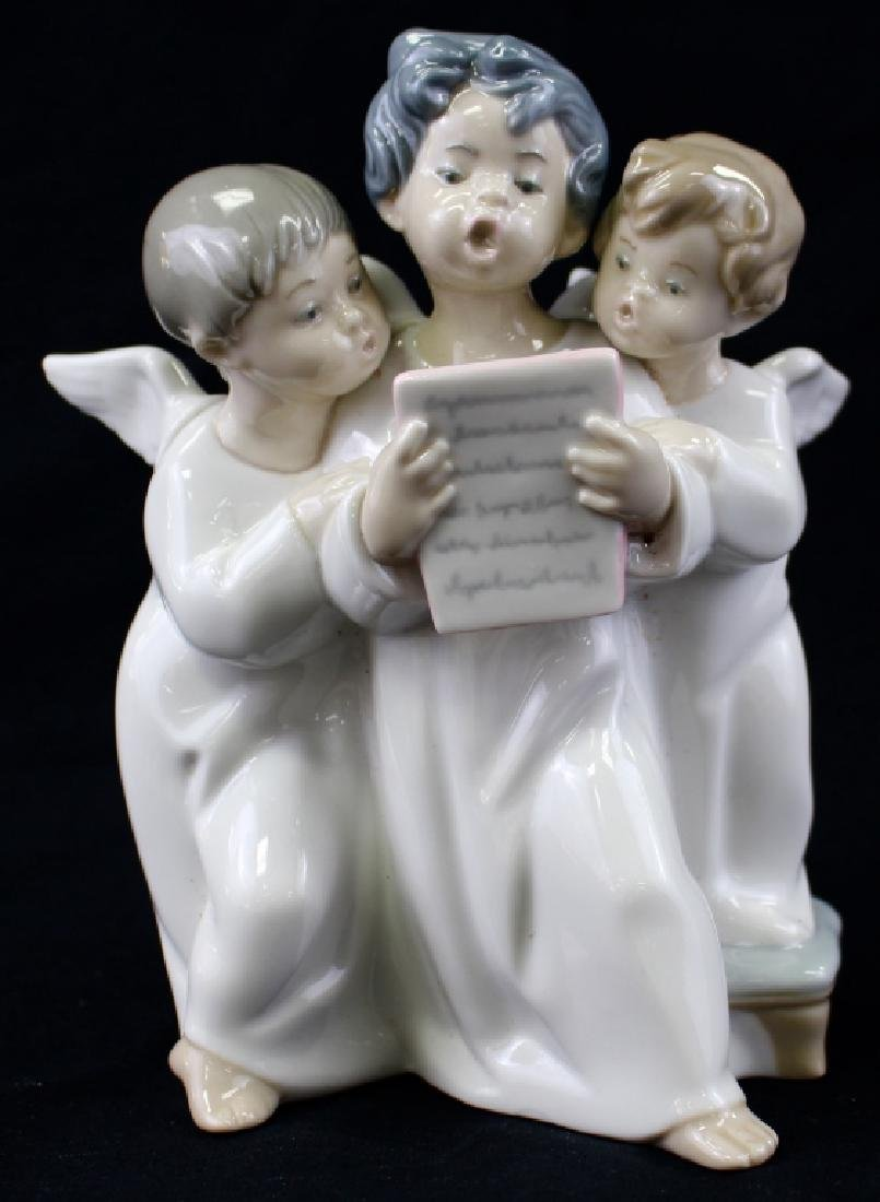 LLADRO 3 ANGELS SINGING #4542