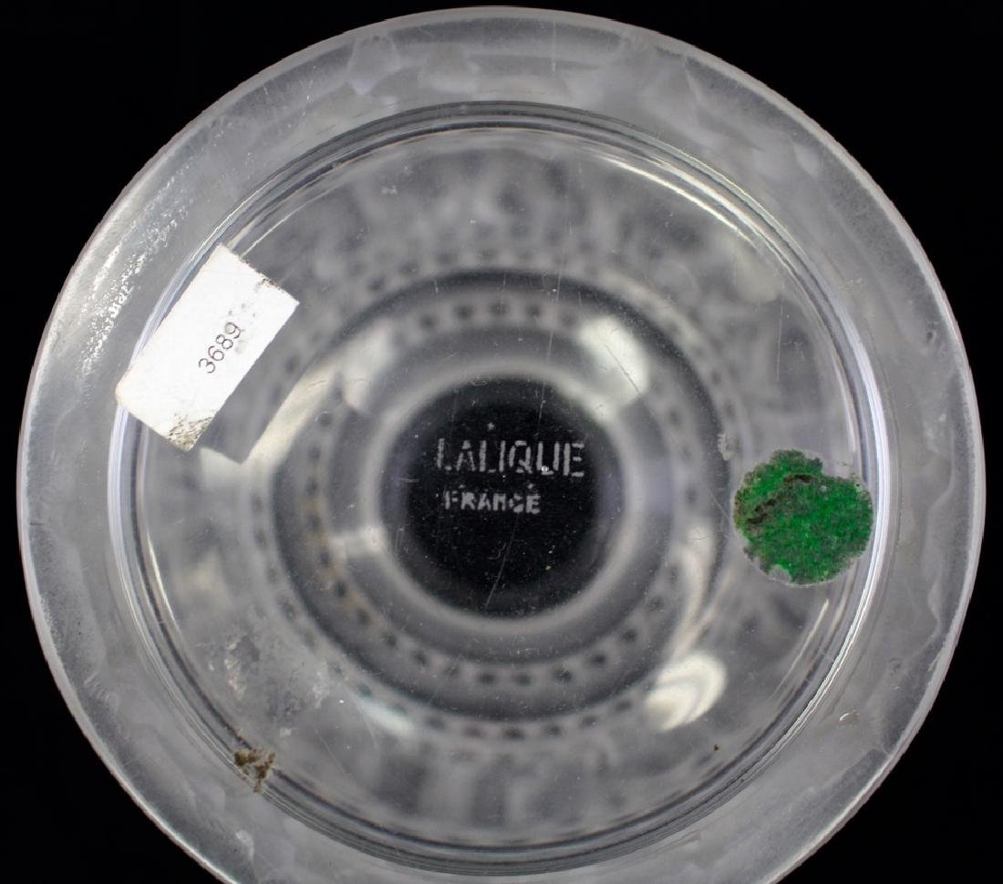 LALIQUE ENFANTS COVERED FROSTED DRESSER JAR - 3