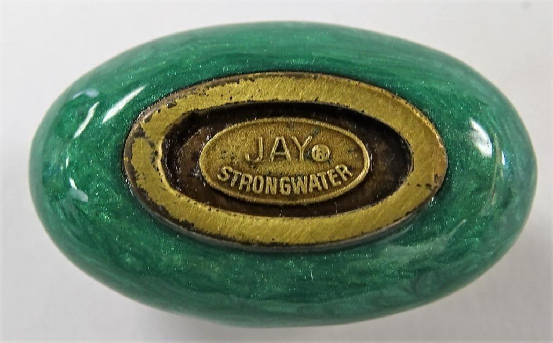 JAY STRONGWATER ENAMEL W/ RHINESTONE CLOISONNE - 3
