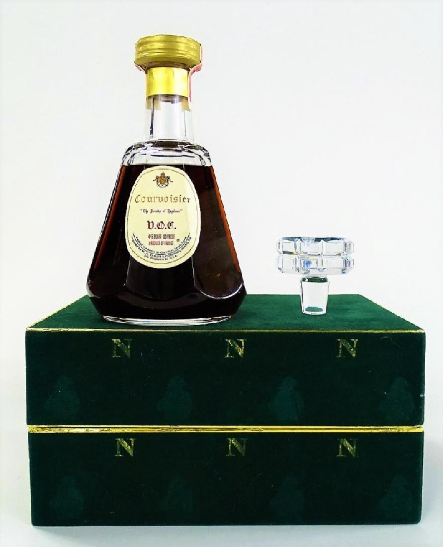 BACCARAT CRYSTAL COURVOISIER DECANTER IN BOX