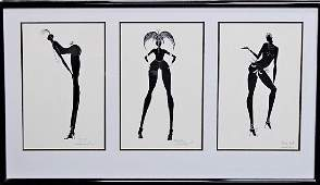 PERRY G LITHOGRAPH TITLED 'SHOWTIME'