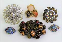 LARGE LOT OF SIGNED COSTUME JEWELRY