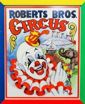 Roberts Bros Circus Poster
