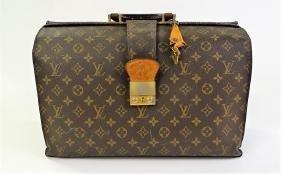 Vintage Louis Vuitton Monogram Canvas Doctor's Bag