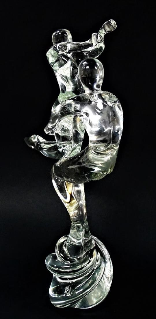 RENATO ANATRA SIGNED MURANO ART GLASS SCULPTURE
