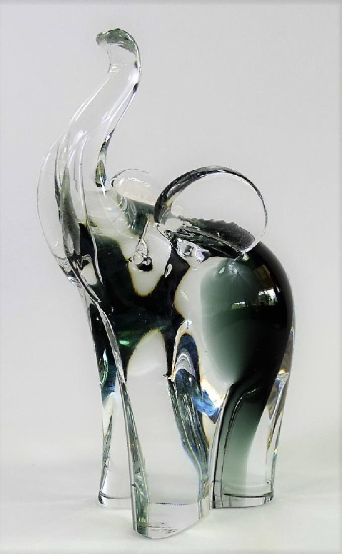 V. NASON MURANO GLASS ELEPHANT SCULPTURE