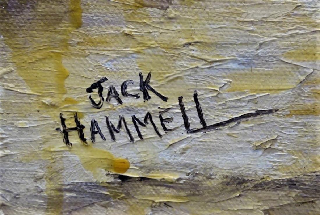 JACK HAMMELL ORIGINAL CITYSCAPE OIL/CANVAS - 3